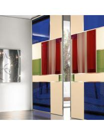Sliding doors Mitika made with the model Artika