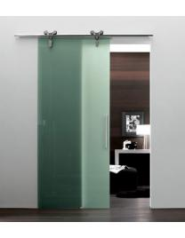 Sliding door Logika in laguna glass