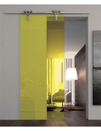 Transparent yellow glass V2-64